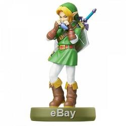 Nintendo Amiibo Link Legend of Zelda Ocarina of Time Figure F/S NEW JAPAN