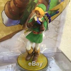 Nintendo Amiibo Link Majora's Mask Ocarina of Time Legend of Zelda F/S NEW JAPAN