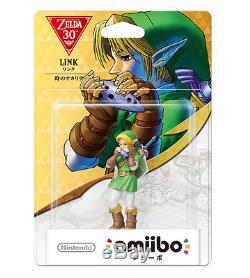 Nintendo Amiibo Link Ocarina of Time (The Legend of Zelda Series) Japan Import
