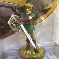 Nintendo Amiibo Link Skyward Sword Twilight Princess Legend of Zelda F/S NEW JP
