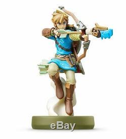 Nintendo Amiibo The Legend of Zelda Link Archer Breath Of The Wild 3DS Wii U new