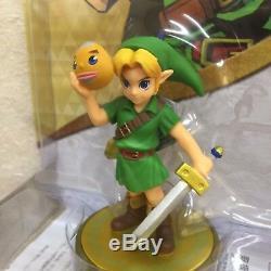 Nintendo Amiibo link Majora's Mask The legend series of Zelda F/S NEW JAPAN
