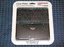 Nintendo Cover Plate Plates 055 Legend of Zelda Triforce Link new 3DS JAPAN F/S