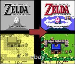 Nintendo GameBoy Color The Legend of Zelda Link's Awakening DX ENGLISCH Modul