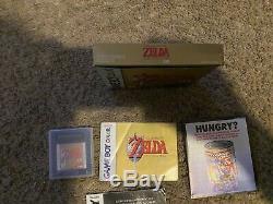 Nintendo Game Boy Color Legend of Zelda Link's Awakening DX GBC 100%CIB COMPLETE