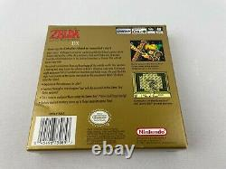 Nintendo Game Boy Color Legend of Zelda Links Awakening DX CIB Complete in Box