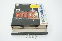 Nintendo Game Boy Color The Legend Of Zelda Links Awakening DX CIB NOE