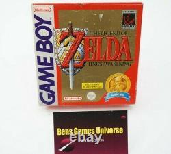 Nintendo Game Boy Spiel The Legend of Zelda Links Awakening CIB NOE