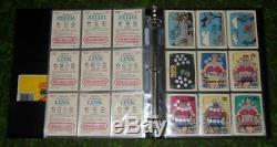 Nintendo Game-Packs Trading Card Set Super. Mario. Bros. Legend. Zelda. Link-Topps