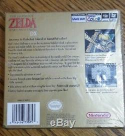 Nintendo Gameboy Color, Legend Of Zelda Links Awakening DX New Holostrip