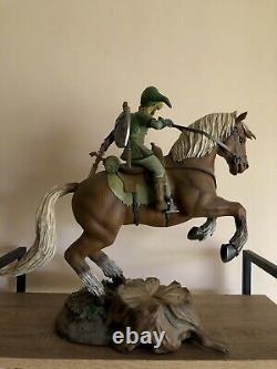 Nintendo Legend Of Zelda Link On Epona First4Figures Statue