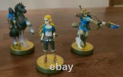 Nintendo Legend of Zelda Series Amiibo Lot Complete Set See Description