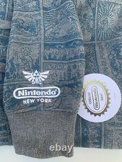 Nintendo Legend of Zelda Windwaker Hoodie LTD Nintendo World NY Official Merch