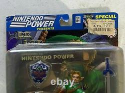Nintendo Power Joyride Studios The Legend of Zelda Link & Epona Figure NIB