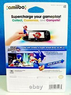 Nintendo SONIC amiibo US/USA/NA Version NEW Super Smash Bros FIRST PRINT