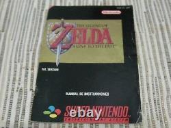 Nintendo Super Nintendo Snes The Legend Of Zelda A Link To The Past Pal España
