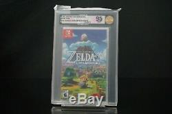 Nintendo Switch Legend of Zelda Link's Awakening VGA 95 Gold Grade