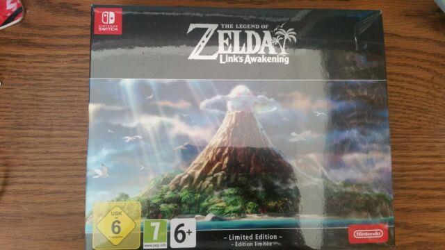 Nintendo Switch The Legend Of Zelda Link's Awakening Limited Edition
