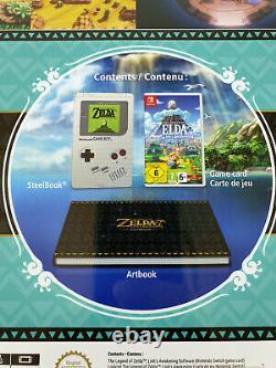 Nintendo Switch The Legend of Zelda Link's Awakening Limited Edition SteelBook