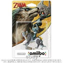 Nintendo Switch amiibo Wolf Link Midna Legend Zelda Breath Wild Wii U JAPAN