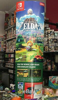 Nintendo The Legend Of Zelda Link's Awakening Promo Display Standee