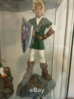 Nintendo The Legend Of Zelda Ocarina Of Time Link Statue