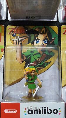 Nintendo The Legend of Zelda amiibo Sammlung u. A Link Majorask Mask Neu &OVP