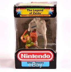 Nintendo Trophy Figure Legend of Zelda 1988 Gibdo Attacks Link RARE