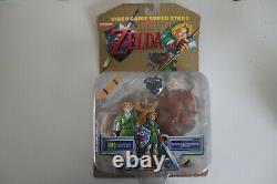 Nintendo Video Game Super Stars The Legend of Zelda Link Figure Brand New Sealed