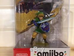 Nintendo amiibo Link The Legend of Zelda Skyward Sword Switch Free Shipping