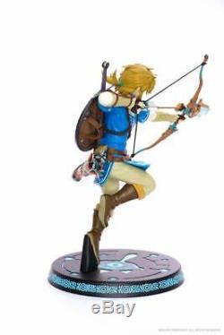 ORIGINAL First 4 Figures The Legend of Zelda Figur Breath of the Wild Link