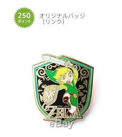Original Badge LINK Club Nintendo JAPAN NEW (Legend of Zelda)