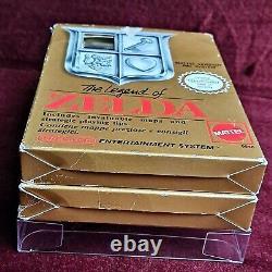 PAL VersionLegend of ZeldaAdventure LinkNintendo NES Box Original Authentic