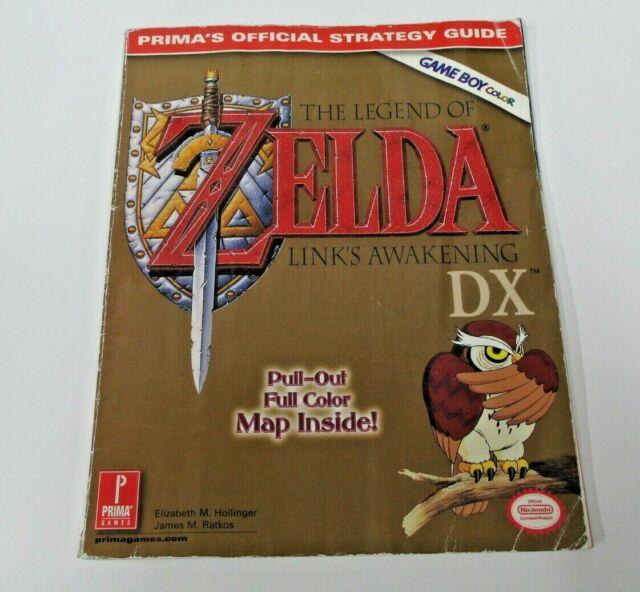 Prima's Official Strategy Guide The Legend Of Zelda Link's Awakening Dx No Map