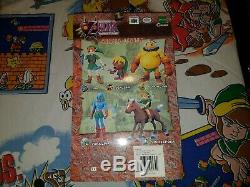 RARE 2001 Epoch CWorks Legend of Zelda Majora's Mask Goron Link Figure Nintendo