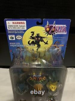 RARE 2001 Epoch Legend of Zelda Majora's Mask DEKU LINK Figure