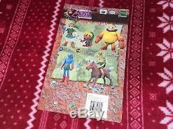 RARE 2001 Epoch Legend of Zelda Majora's Mask DEKU LINK Figure Nintendo American