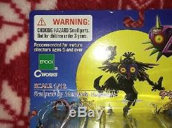RARE 2001 Epoch Legend of Zelda Majora's Mask DEKU LINK Figure Nintendo JAPAN
