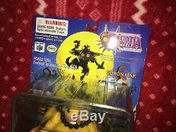 RARE 2001 Epoch Legend of Zelda Majora's Mask GORON LINK Figure Nintendo