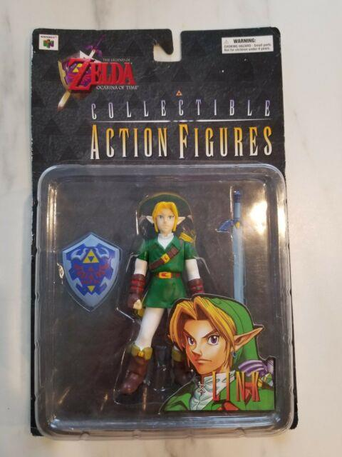 Rare Nib The Legend Of Zelda Ocarina Of Time Link 4.75 Action Figure N64 1998