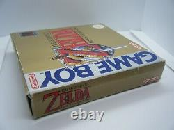Rare Boxed Legend Of Zelda Links Awakening Nintendo Game Boy Game With Manual