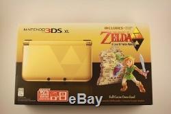 Rare Nintendo 3ds XL Legend Of Zelda Link Between Worlds Brand New, Sealed