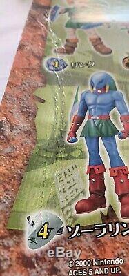 Rare The Legend of Zelda Majora's Mask Epoch CWorks- Zora Link Japanese Figure
