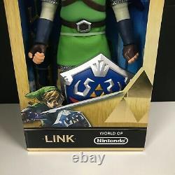 SDCC 2015 Legend of Zelda LINK Figure 20 METALLIC VARIANT Skyward Sword LE 3000
