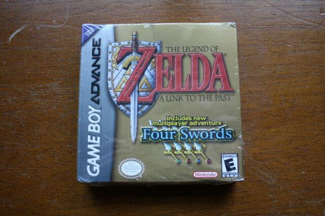 Sealed Legend Of Zelda A Link To The Past Four Swords Game Boy Advance (2002)