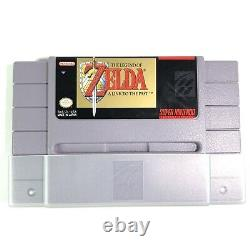 SNES The Legend of Zelda A Link to the Past Complete CIB Excellent 1st Pribting