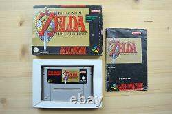 SNES The Legend of Zelda A Link to the Past (OVP, mit Anleitung)