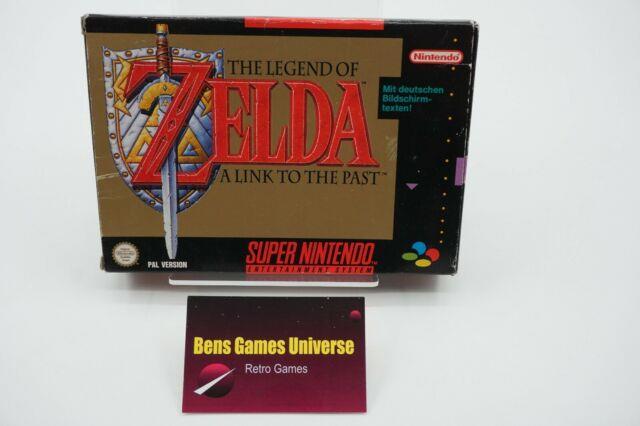 Snes The Legend Of Zelda A Link To The Past +ovp + Anleitung + Karte Noe/sfrg