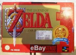 SNES The Legend of Zelda A Link to the past, Super Nintendo, CiB, OVP komplett