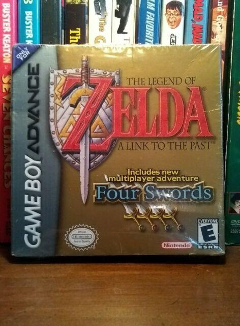 Sealed Gameboy Advance / The Legend Of Zelda A Link To The Past / Four Swords